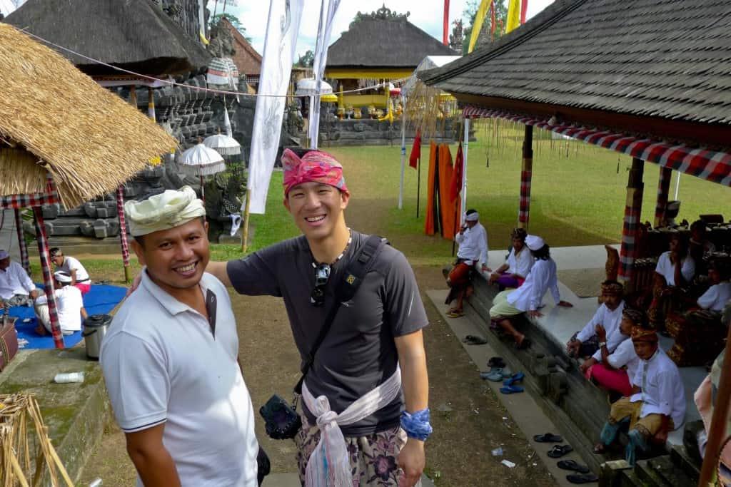 private driver putu arnawa in bali indonesia travle guide