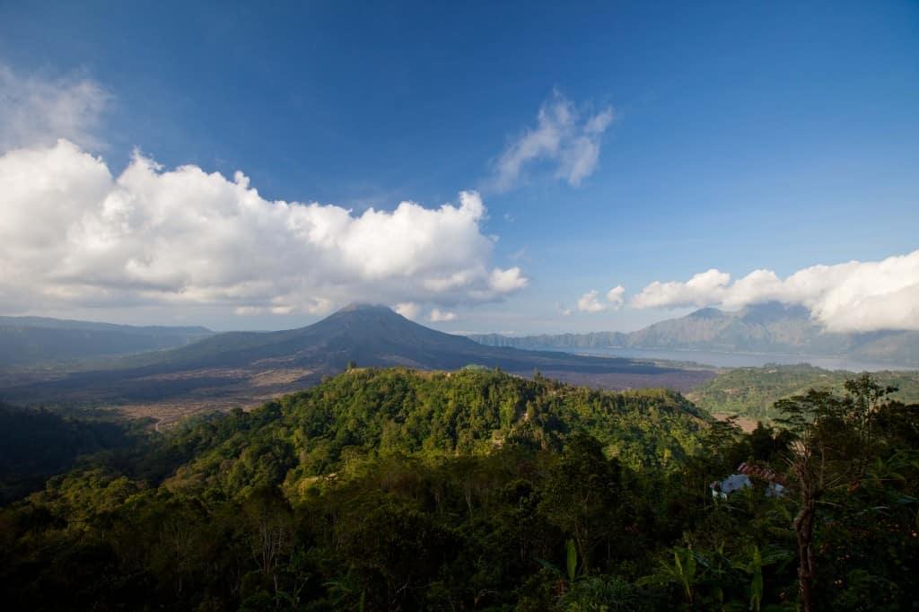 5 day bali itinerary - ganung batur viewing point