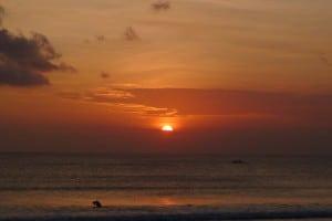 A Kuta sunset