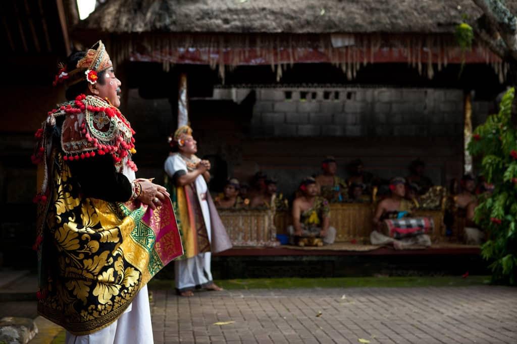 Traditional Barong dance from Bali
