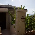 Front door of Conrad Koh Samui's Room 315