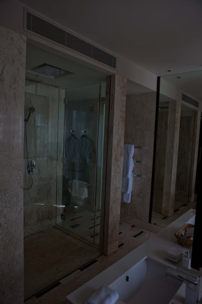 Conrad Koh Samui Glass Shower