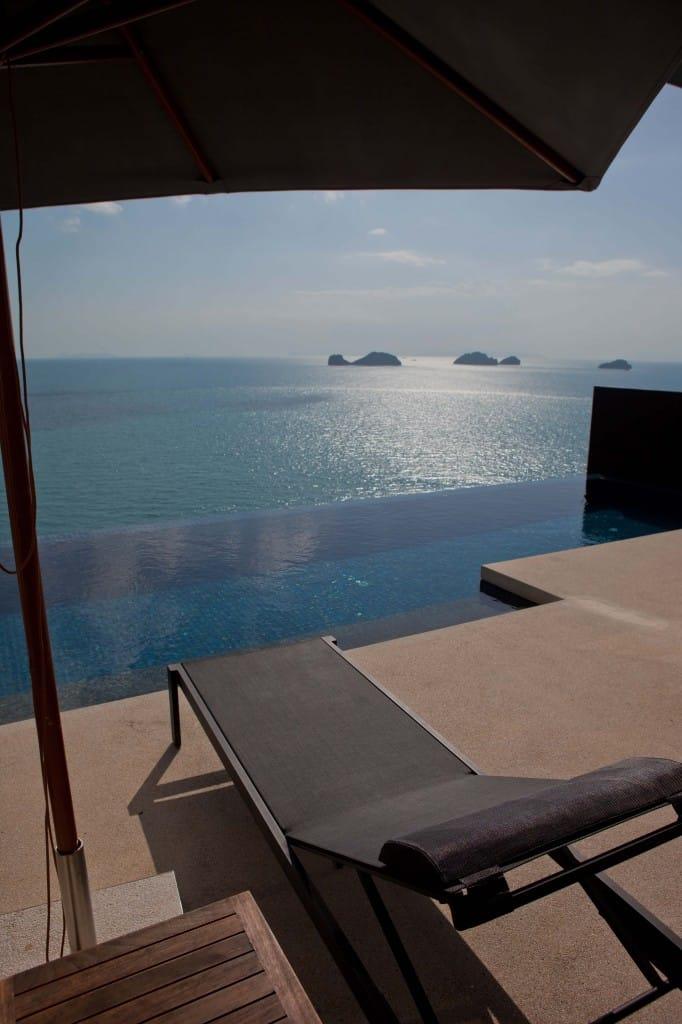 Conrad Koh Samui Beach Chair Views
