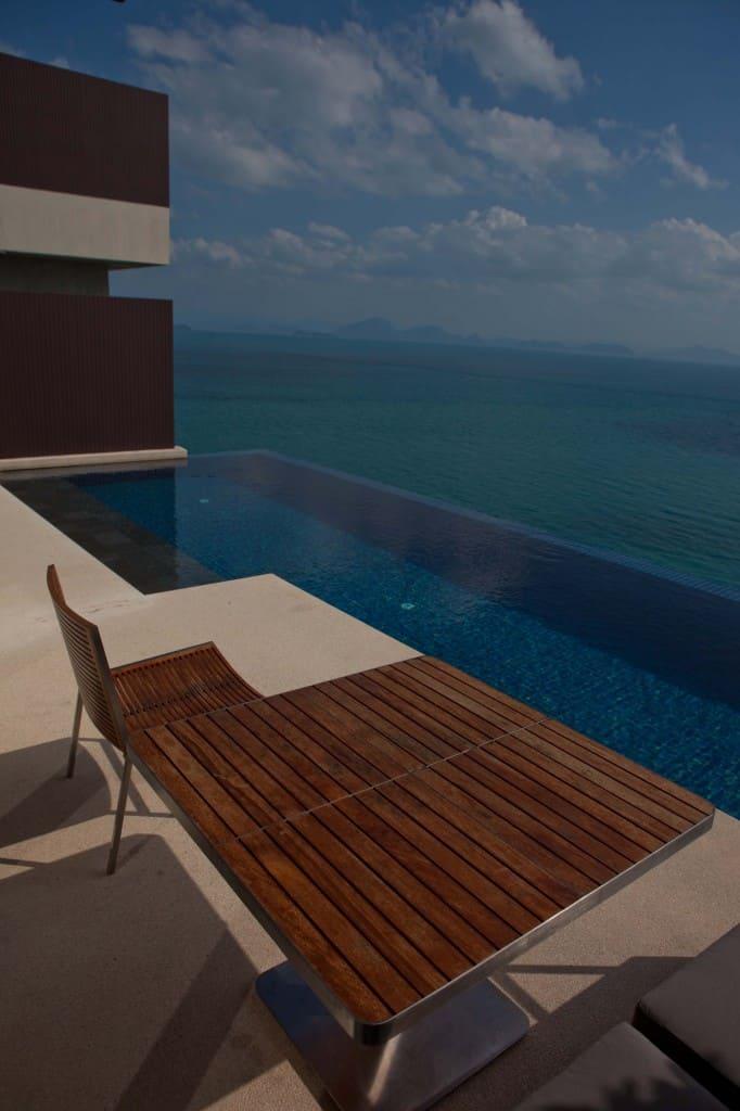Conrad Koh Samui Pool Table and Chairs
