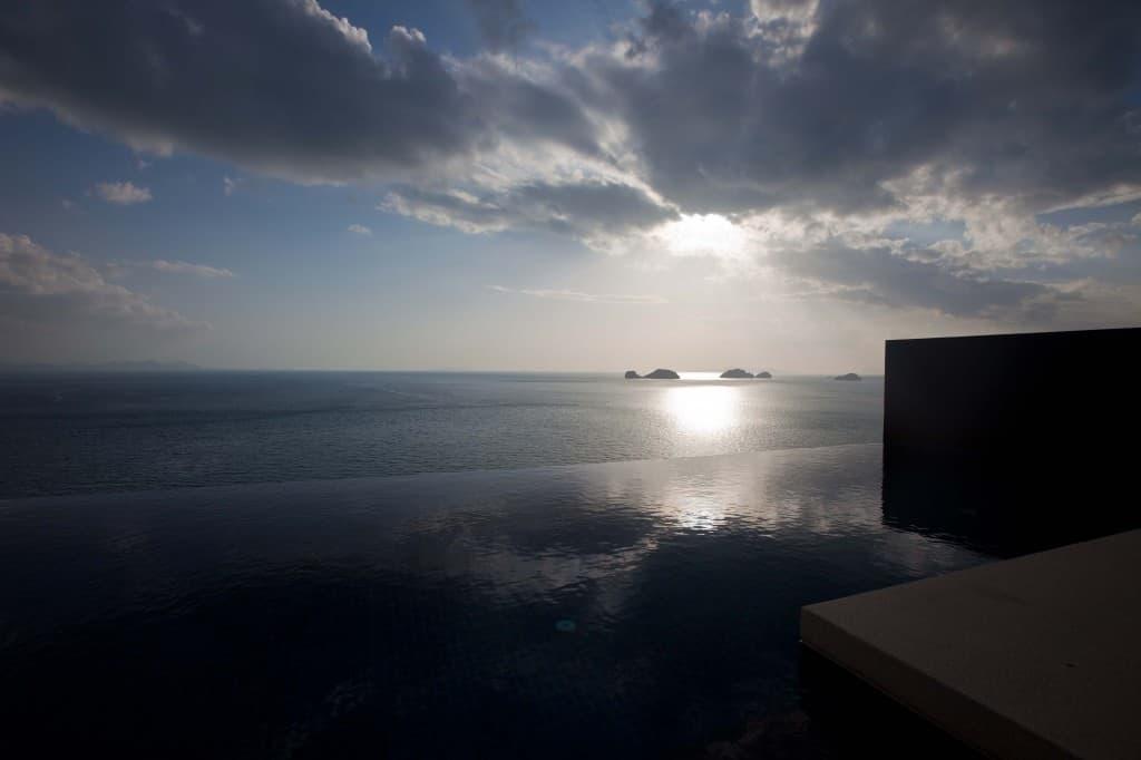 Sun Slowly Setting at Conrad Koh Samui