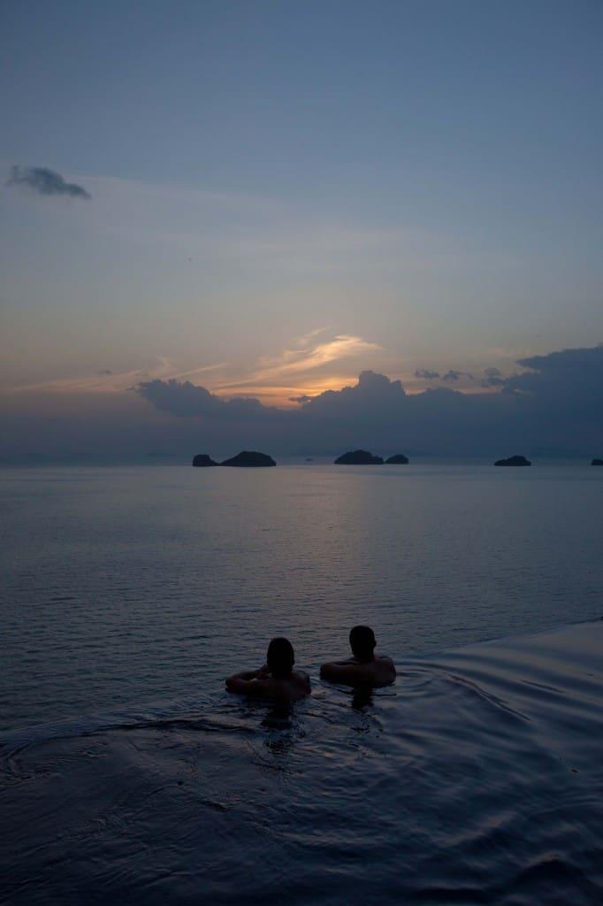 Priceless Sunset at Conrad Koh Samui