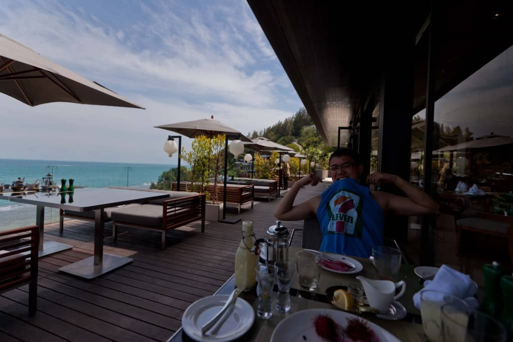 Conrad Koh Samui buffet breakfast