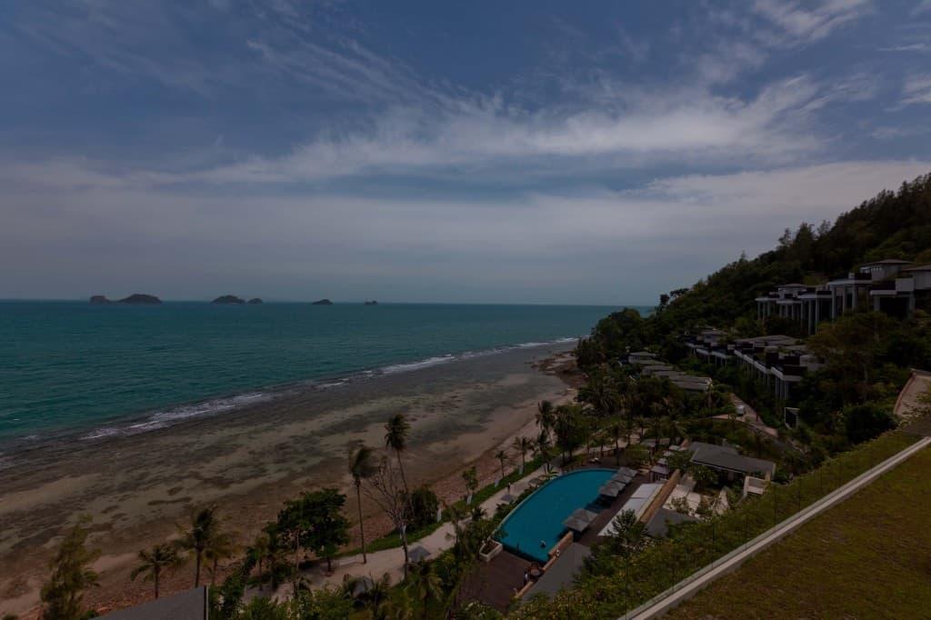 Conrad Koh Samui downward views
