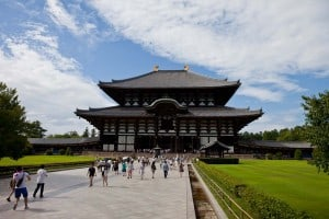 Todaiji Temple - the main attraction in Nara after the deer.