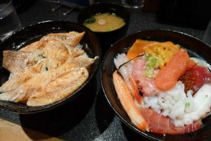 Chirashi dinner time.