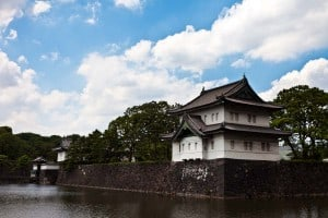 The outer moat of the Imperial Palace.