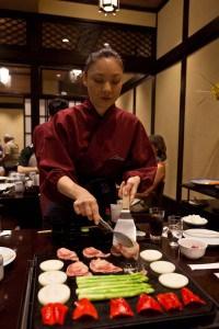 Japanese BBQ at Matsu.
