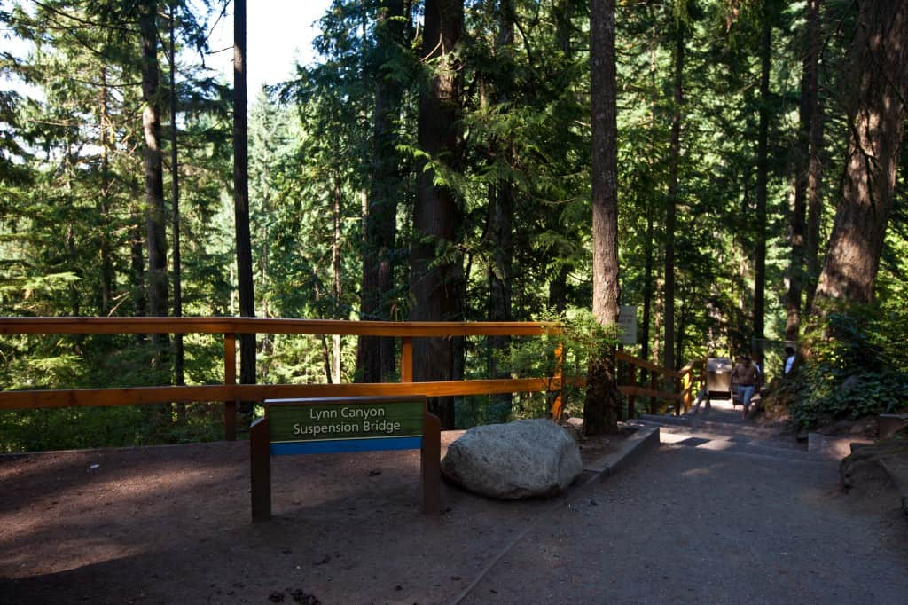 lynn canyon suspension in tips on canada