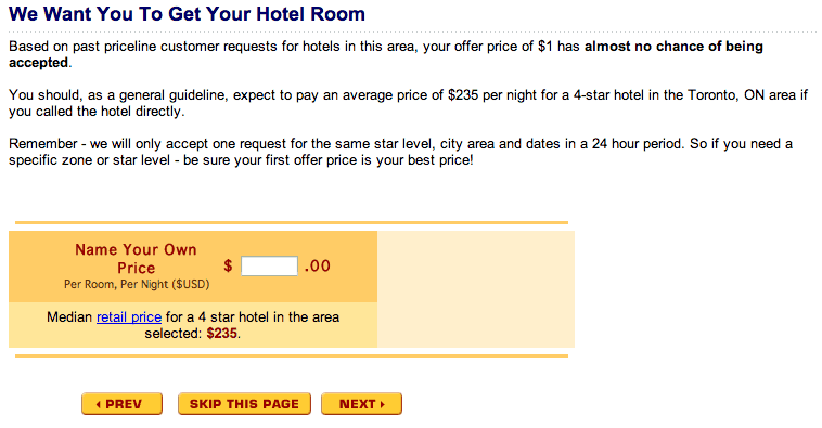 priceline no chance bidding where you should skip this page