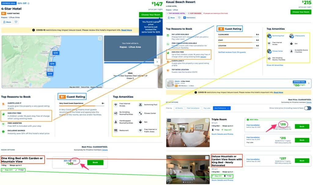 priceline express deals figuring out exactly what hotel you're getting with this comparison