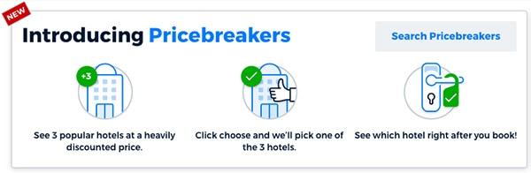 new priceline bircebreakers banner and how it works