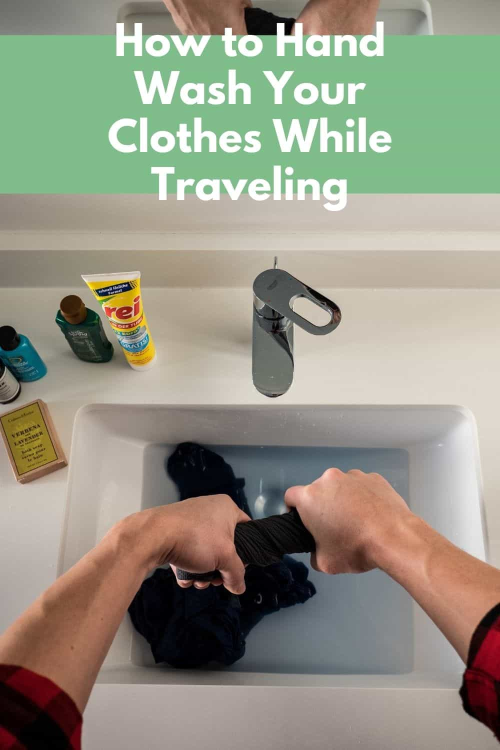 Guide to Travel Clothes Washing