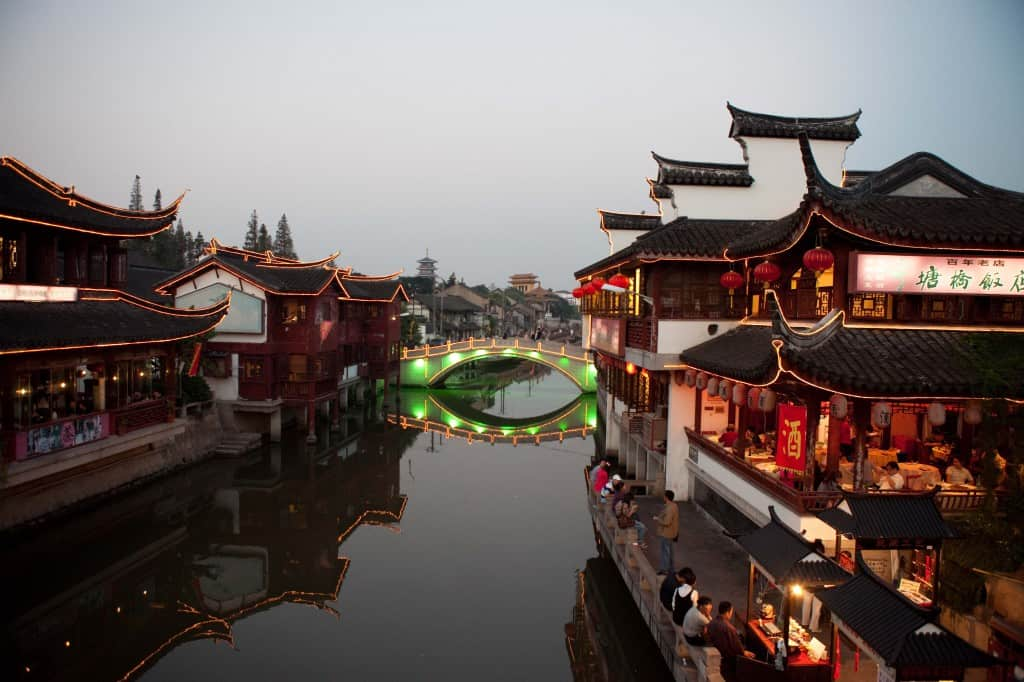 Qibao bridges