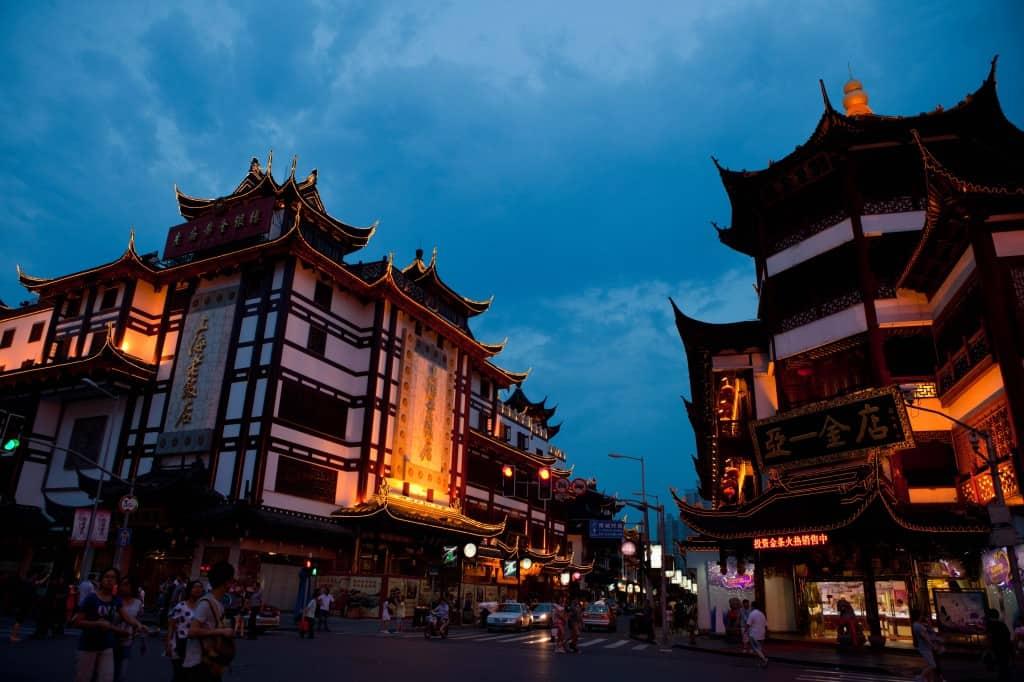 Shanghai destination
