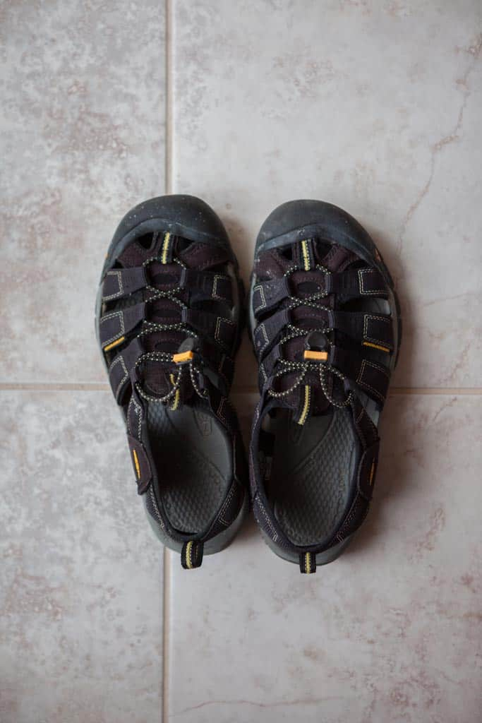 My review of how well the Keen Newport H2 sandals performed during my summer trip to Asia  and why these are a must-have for any traveller.