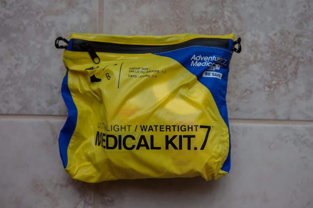 Watertight Medical Kit