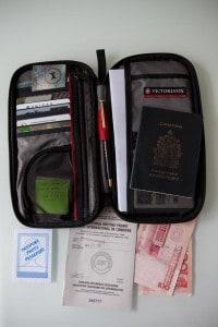 Swiss Army Passport Holder