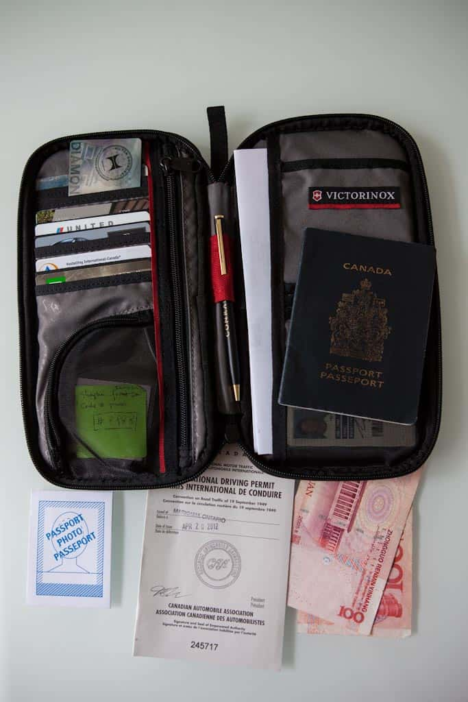 Swiss Army Passport Holder