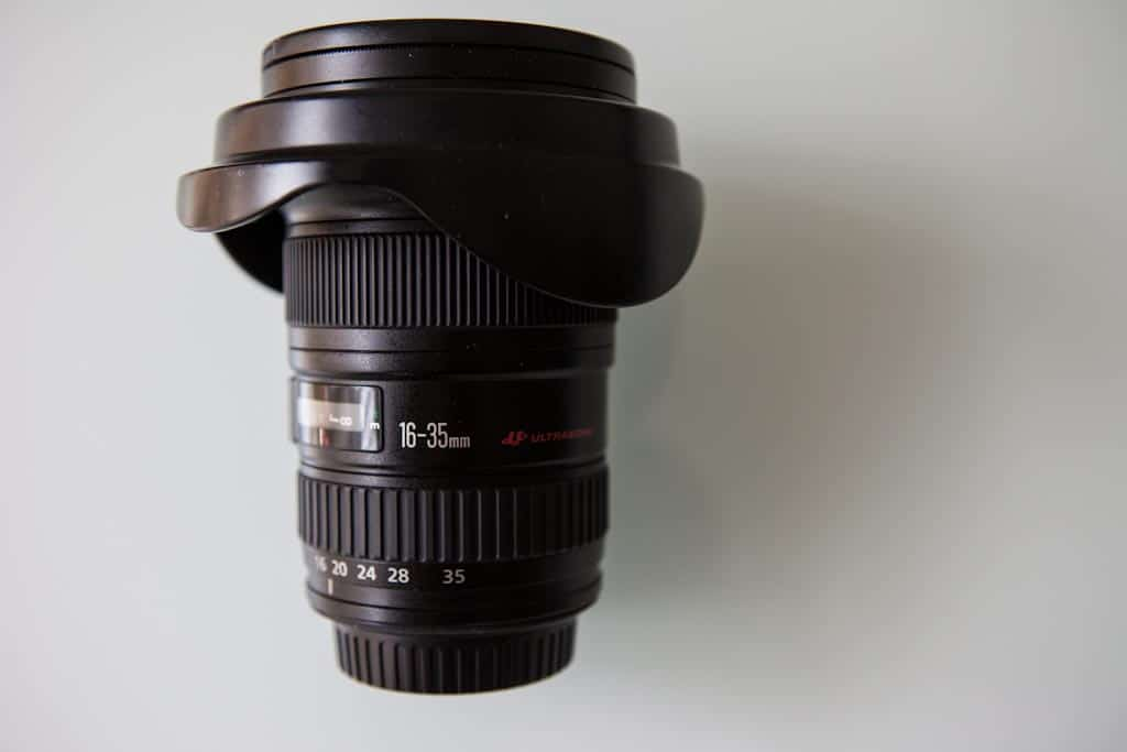 Canon 16-35L F/2.8 Wide Angle Lens