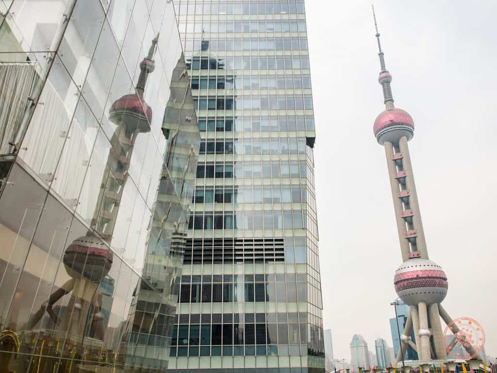 pearl tower is one of the top 10 things to do in shanghai china