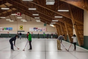 renting 2 sheets of ice at a curling club in toronto