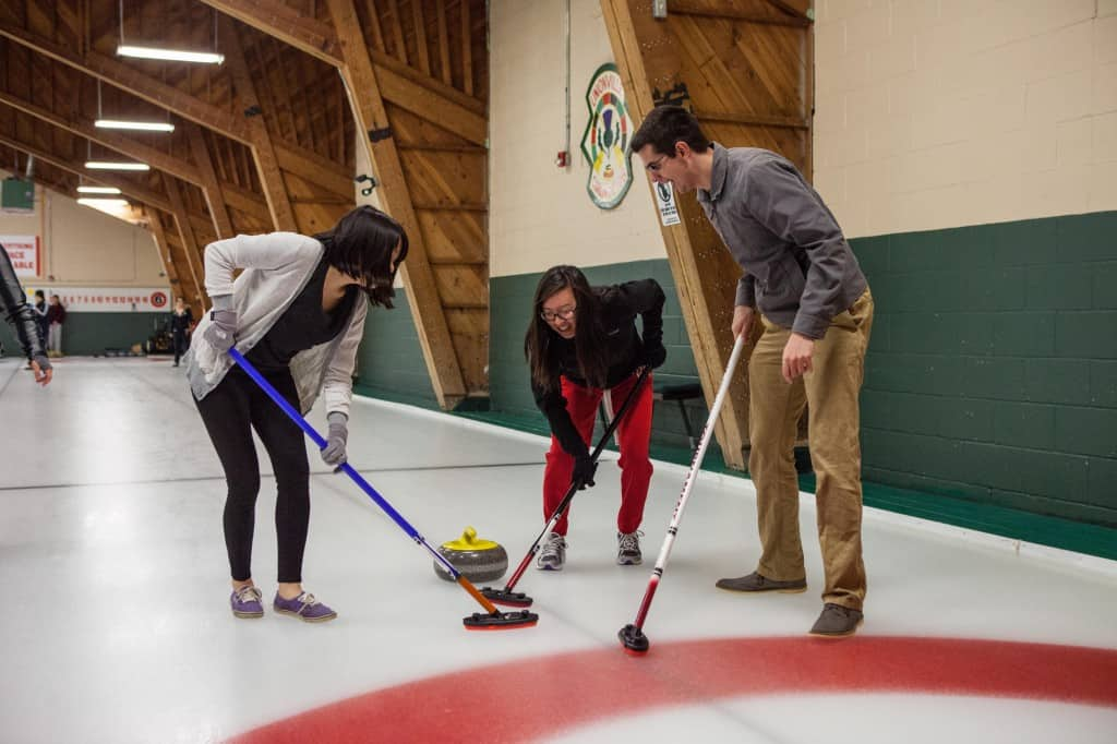 the curling experience in toronto at richmind hill curling club