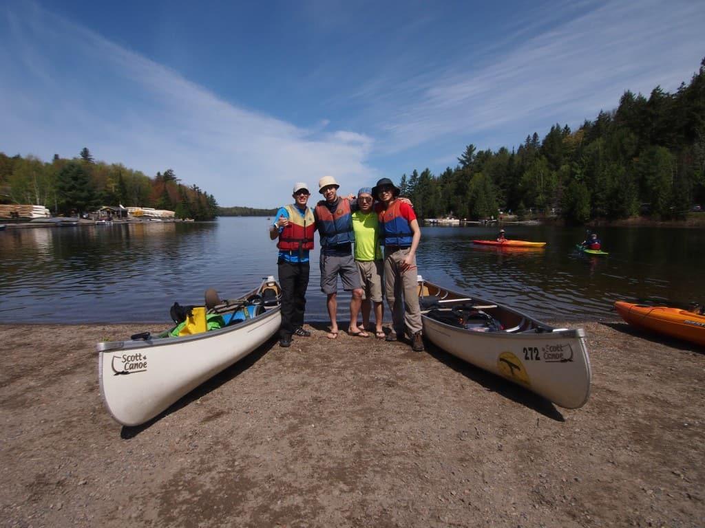 Canoe Trip, Algonquin, Portage