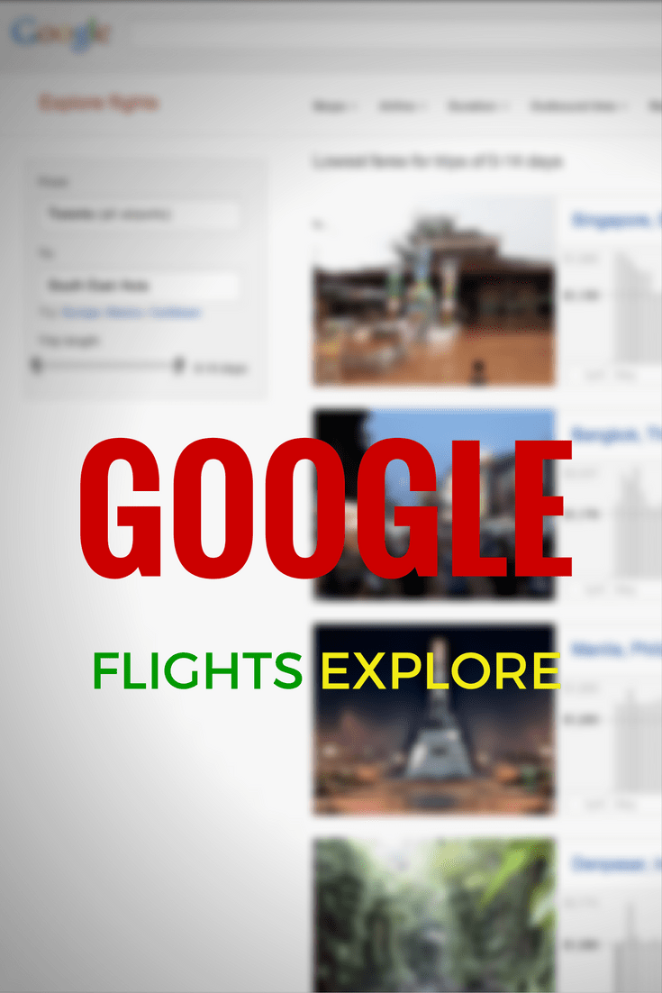 A new feature by Google Flights called Explore that allows users to do open-ended searches based on regions.