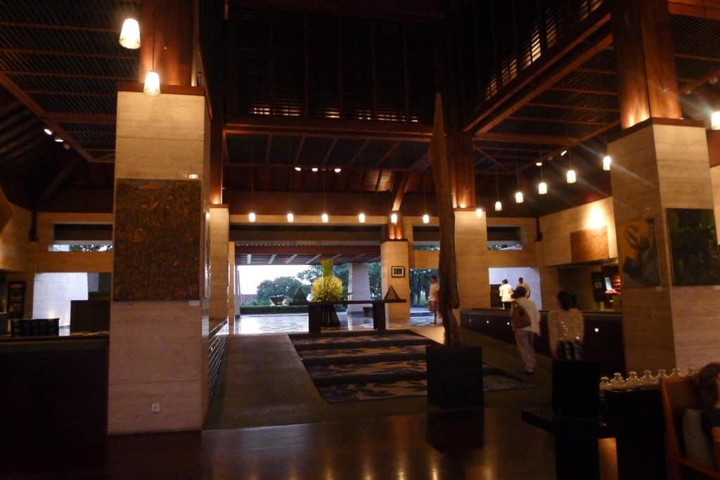 Conrad bali lobby - a hotel review