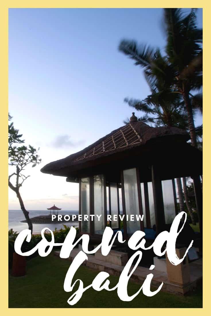 Conrad Bali Review - A Luxurious Resort in Nusa Dua