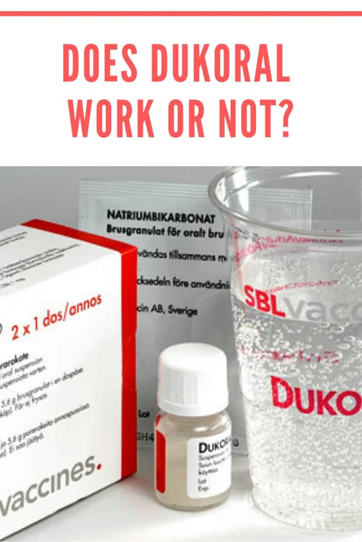 Does Dukoral Work or Not? My Experiences with the Travellers\' Diarrhea vaccine