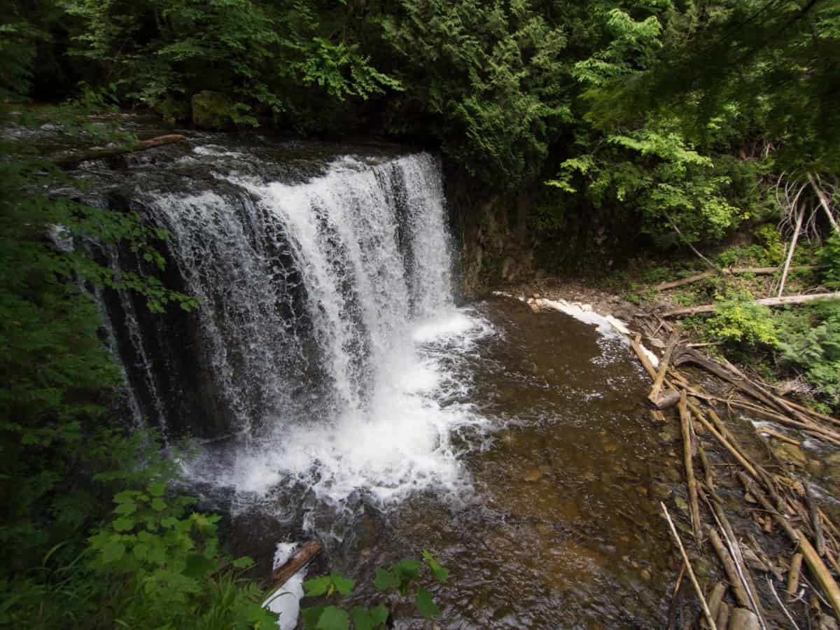 hoggs falls is one of the waterfalls near toronto