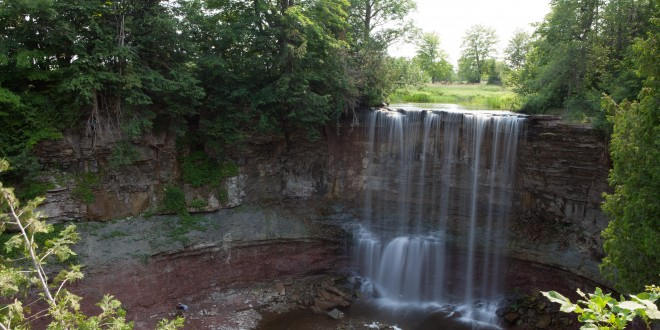 Exploring the Waterfalls Up to Owen Sound