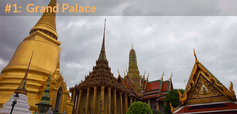 top place to visit in bangkok is the grand palace
