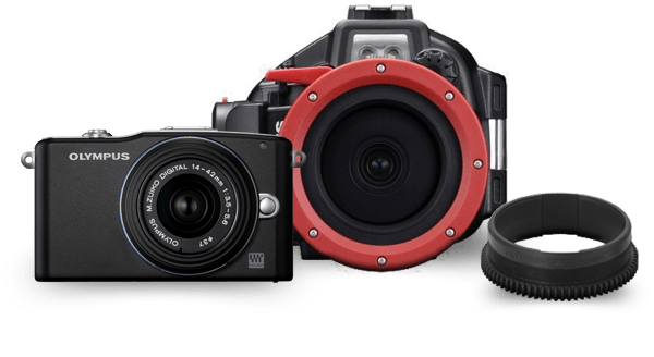 Micro Four Thirds Underwater Photography Camera Bundle