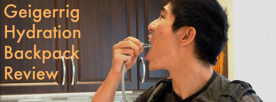 VIDEO:  Review of Geigerrig Hydration Backpacks
