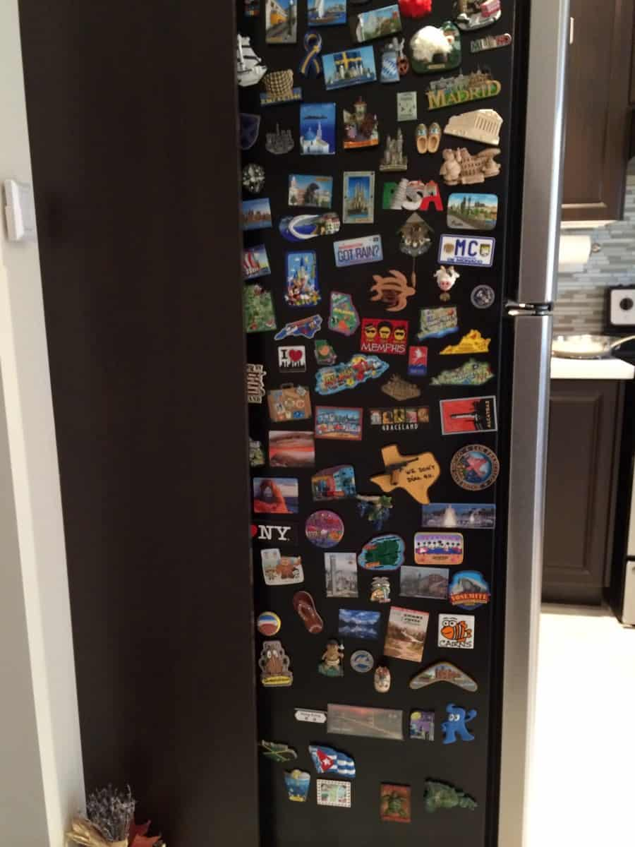 My personal travel magnet collection