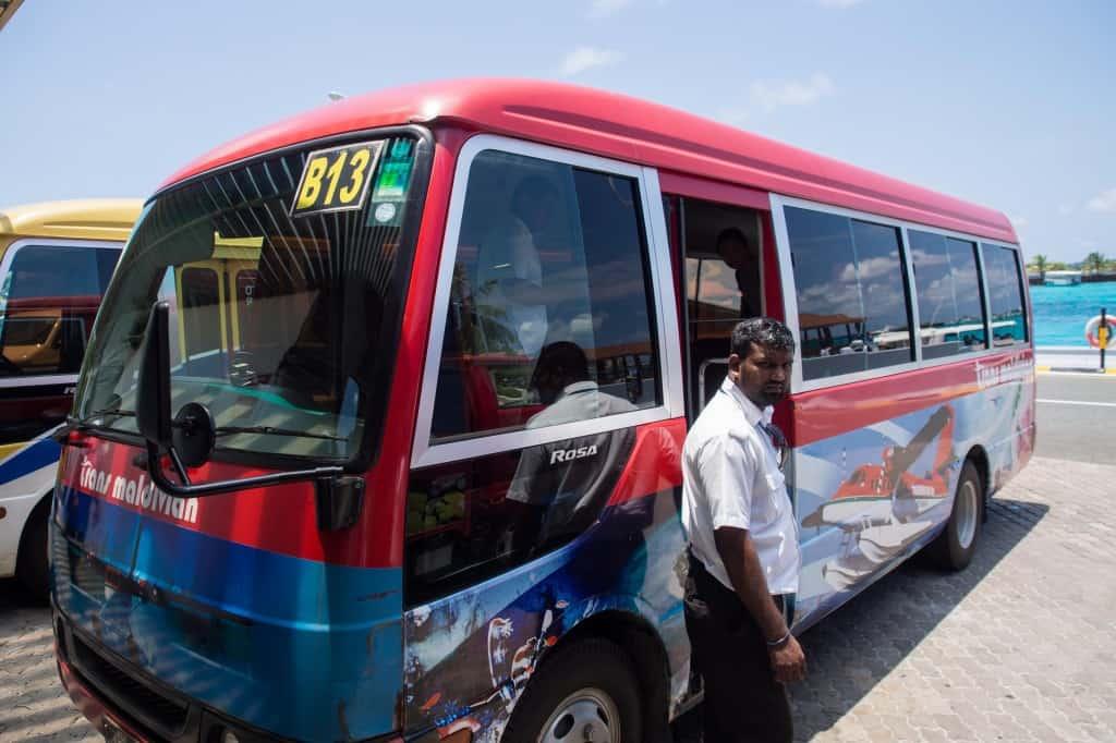 Conrad Maldives Rangali Island Bus