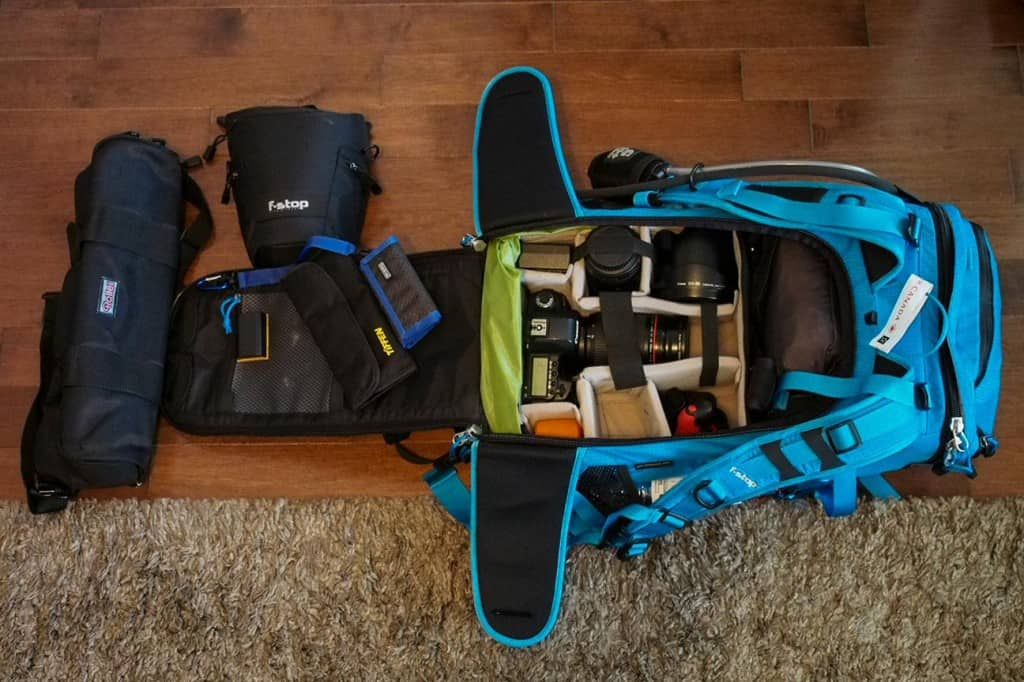 camera gear for photography trip to utah and arizona