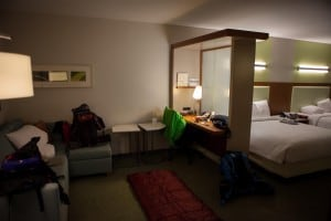 hotel room at springhill suites las vegas convention center