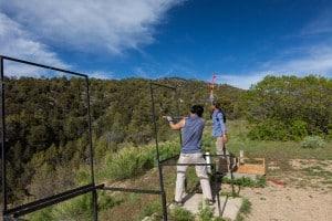 zion ponderosa ranch resort skeet shooting activity