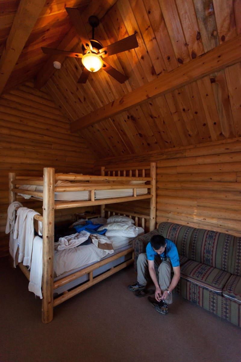 cowbow cabin at zion ponderosa