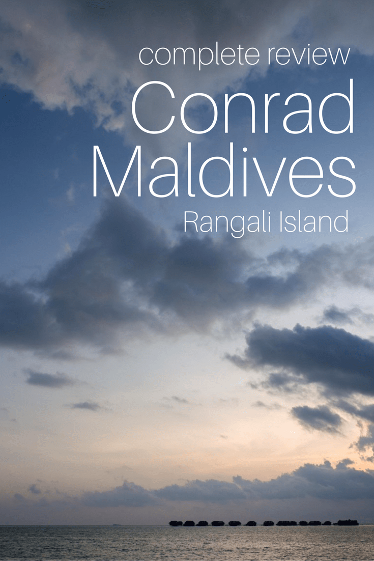 Insider\'s Conrad Maldives Review - Overwater Bungalows, Food & more!