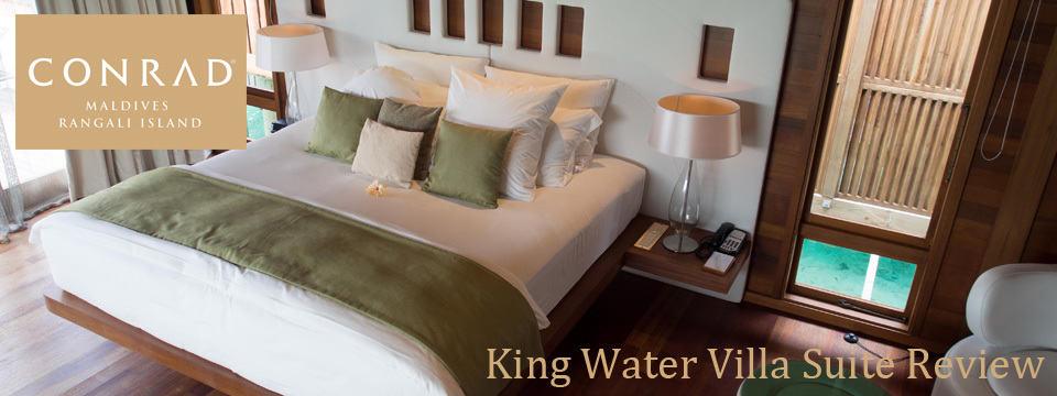 Conrad Maldives – King Water Villa Review
