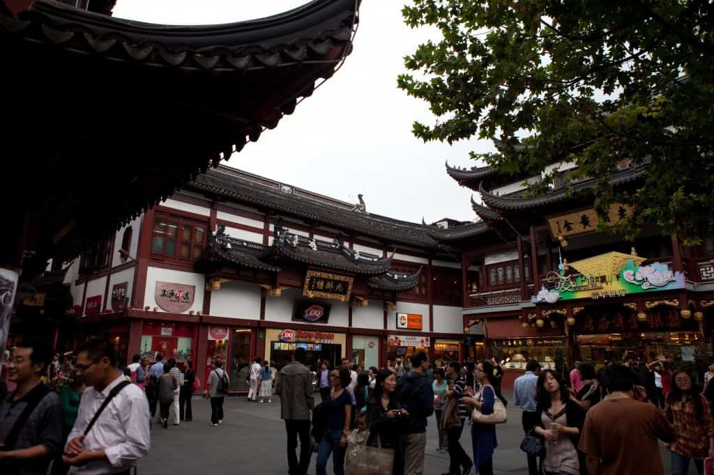 Lots of areas to roam around Yu Garden and of course lots of souvenirs.